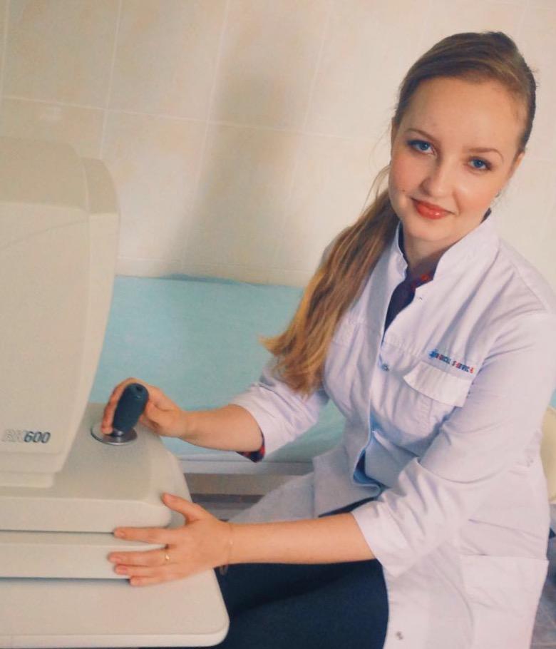 Горескул Галина Андреевна – врач-офтальмолог