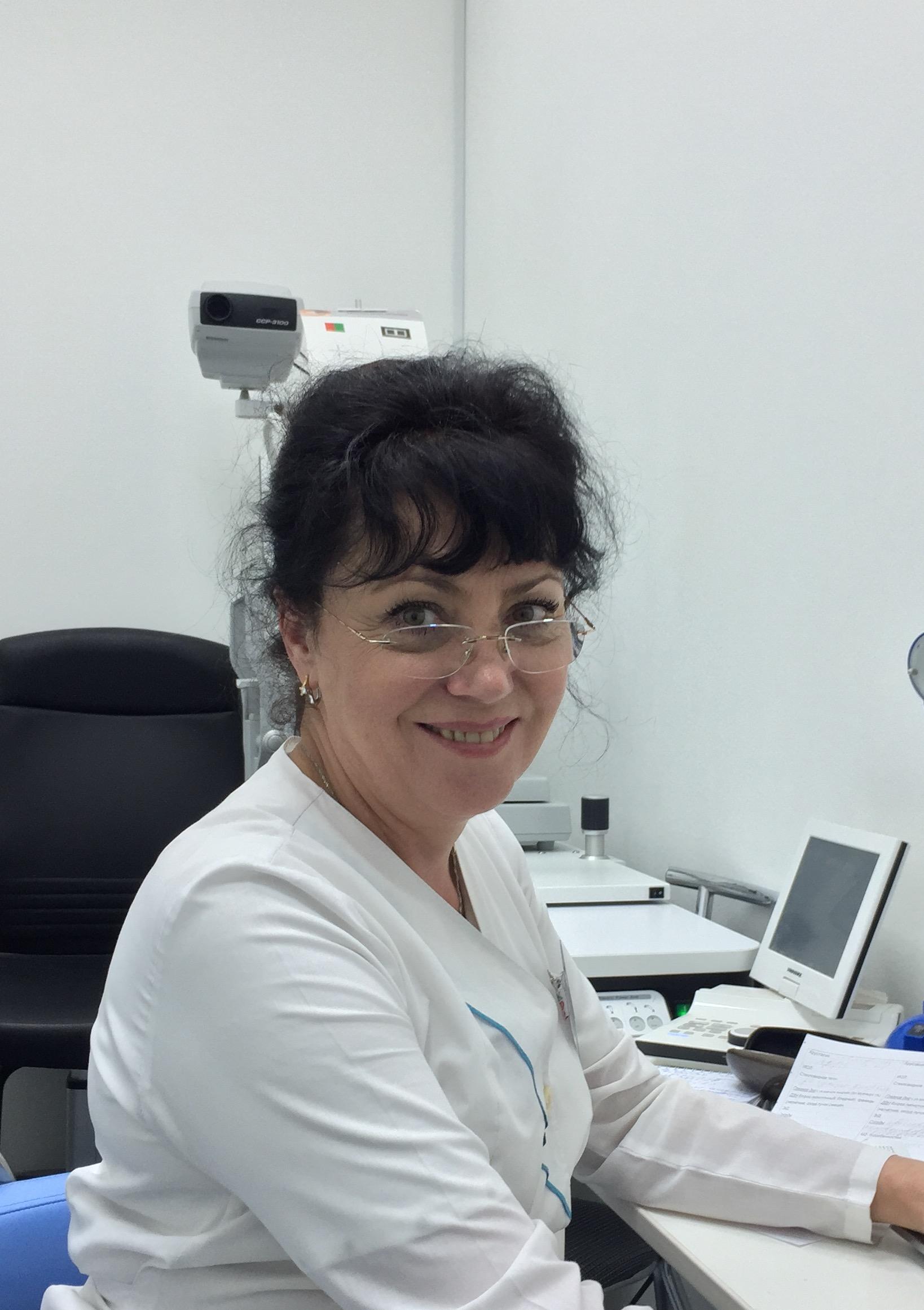 Сенотрусова Лидия Владимировна – врач-офтальмолог